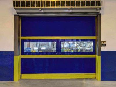 overhead door high speed commercial garage door