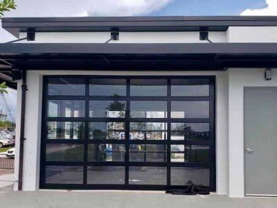 full-view-glass-garage-door