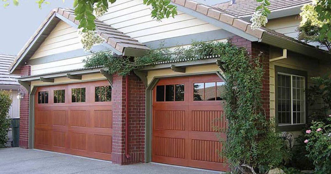 unique double garage doors