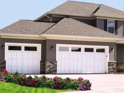 large home with 3 car garage