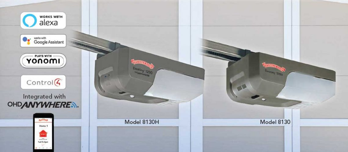 Overhead Door new garage door opener