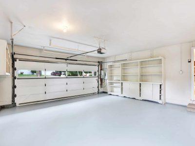 Empty garage interior in American house. Northwest, USA.; Shutterstock ID ; Purchase Order: Zeus